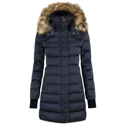 Schoffel Country Mayfair Down Coat in Navy