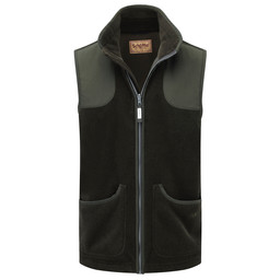 Schoffel Country Gunthorpe Shooting Vest in Dark Olive