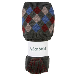 Schoffel Country Ptarmigan Pro Sock in Forest/Mulberry/Mink/Denim