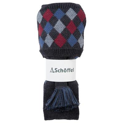 Ptarmigan Pro Sock Flannel/Red/Grey/Denim