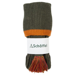 Schoffel Country Snipe Sock in Dark Olive