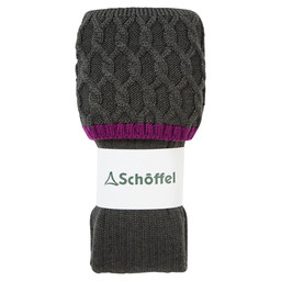 Schoffel Country Ladies Lattice Sock in Forest