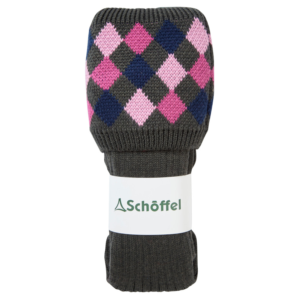 Ladies Ptarmigan Sock Forest/Navy/Rose/Pink