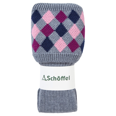 Ladies Ptarmigan Sock Grey/Dahlia/Rose/Navy