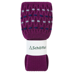 Schoffel Country Stitch Sock II in Dahlia