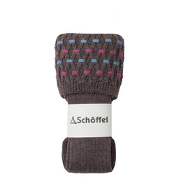 Schoffel Country Ladies Stitch Sock II in Mink