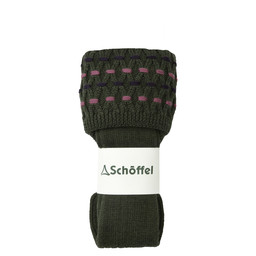 Schoffel Country Ladies Stitch Sock II in Dark Olive