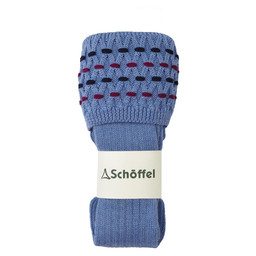 Schoffel Country Stitch Sock II in Bluebell