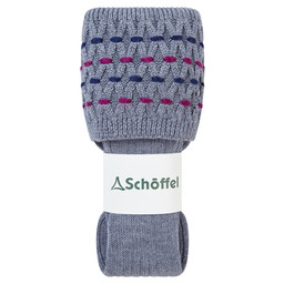 Schoffel Country Ladies Stitch Sock II in Grey