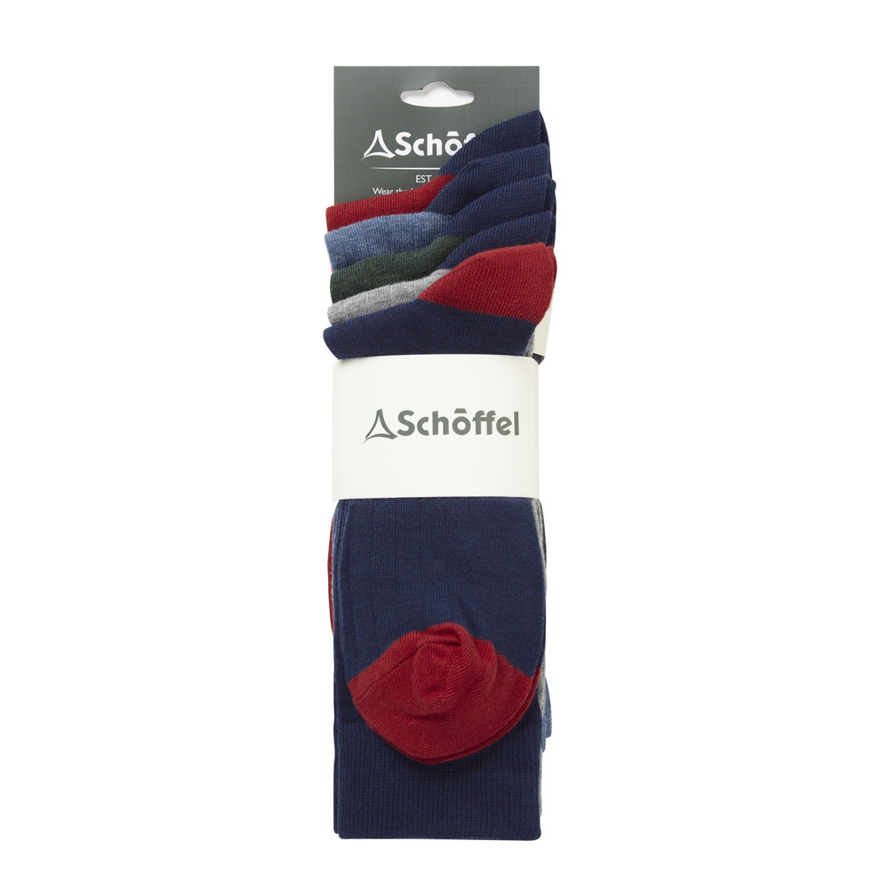 Spey Sock (Pack of 5) Navy Mix