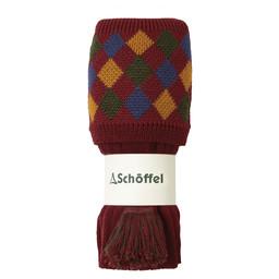 Schoffel Country Ptarmigan II Sock in Brick/Ochre/Dk Olive/Navy