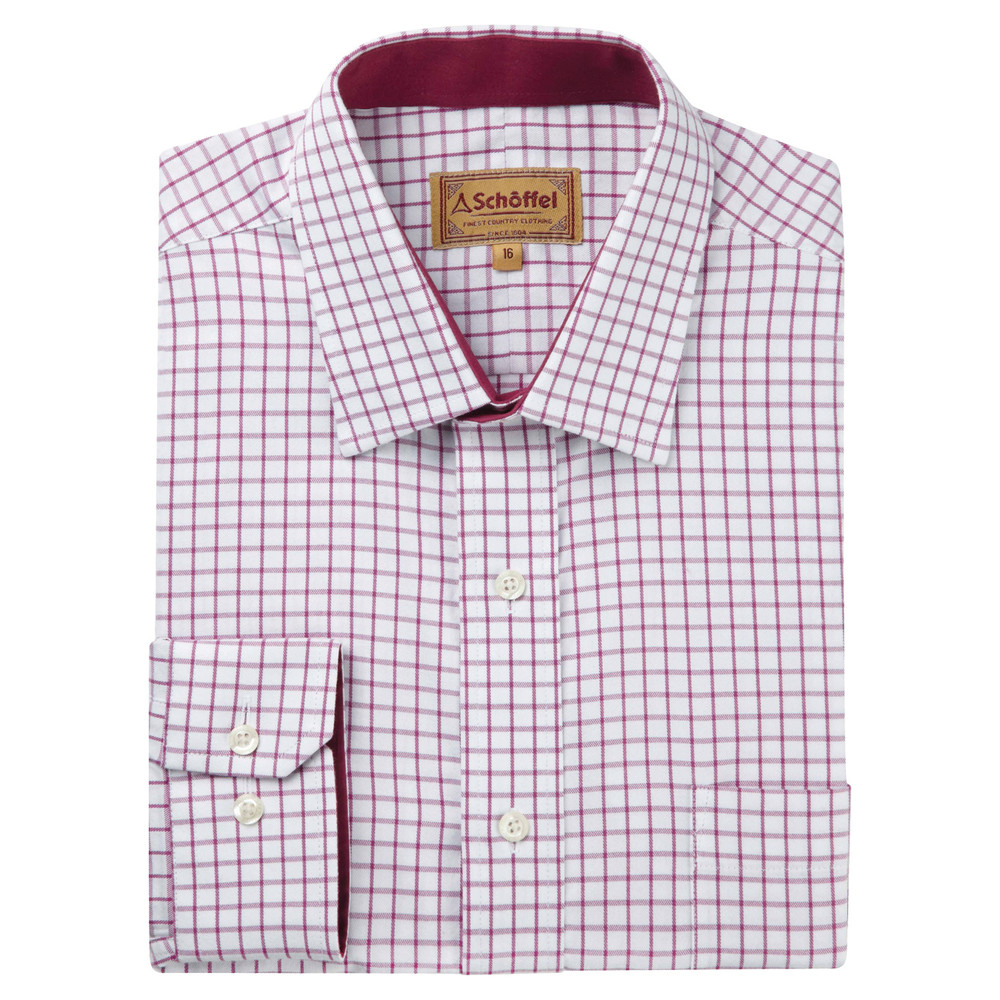 Cambridge Shirt Raspberry