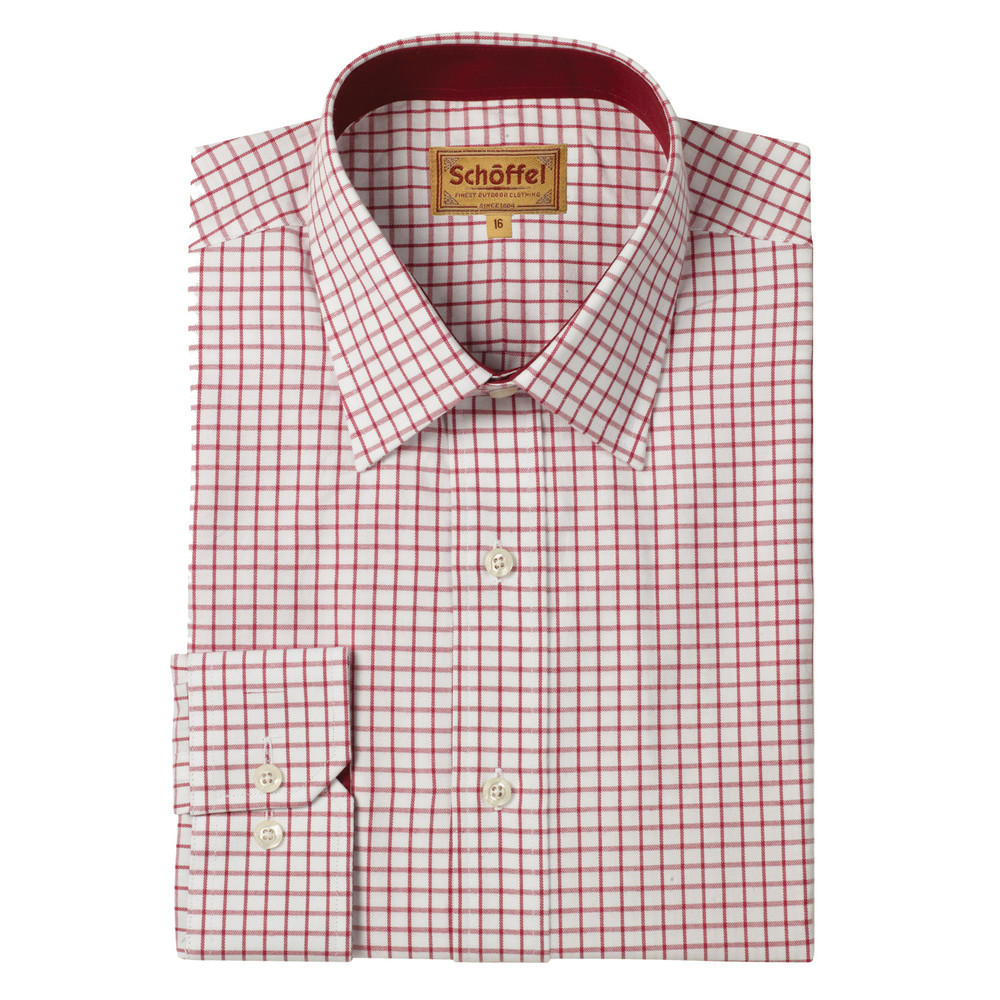Cambridge Shirt Red