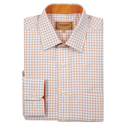 Schoffel Country Cambridge Shirt in Ochre