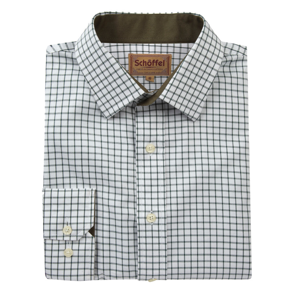 Cambridge Shirt Dark Olive