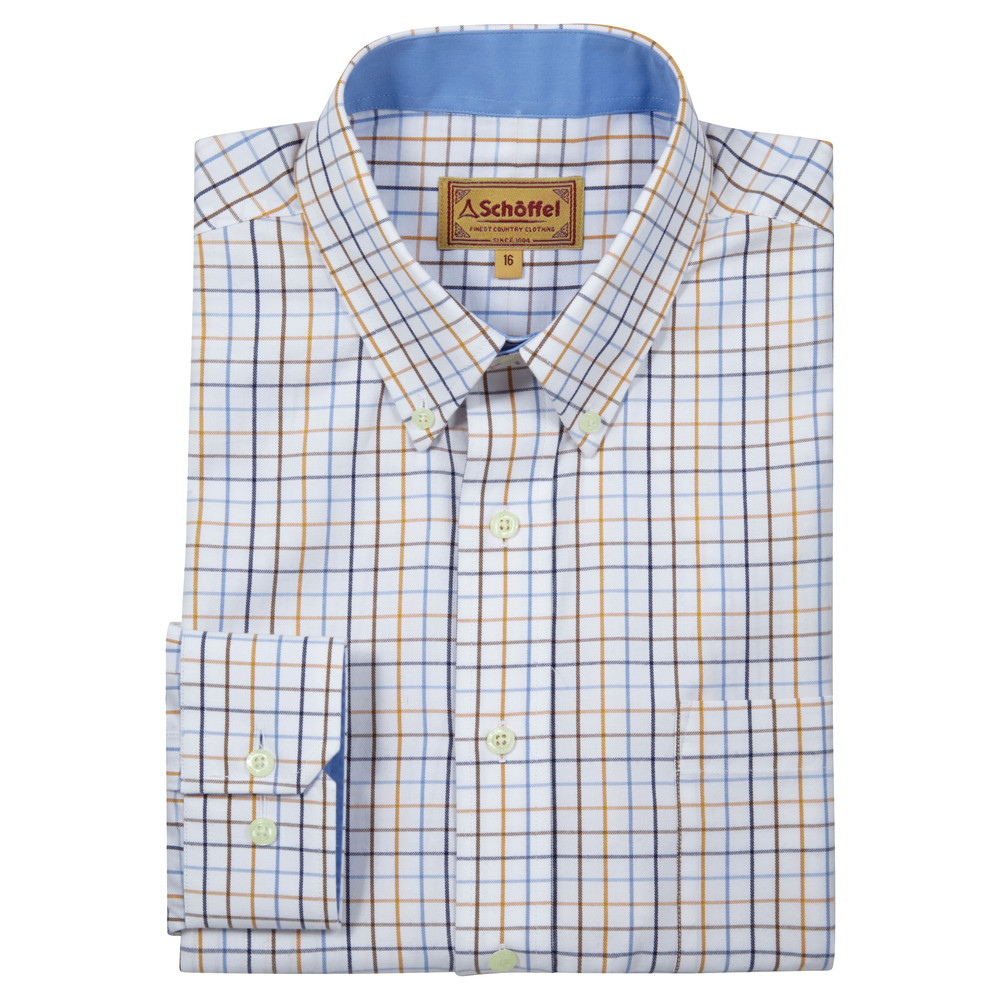 Banbury Shirt Ochre Check