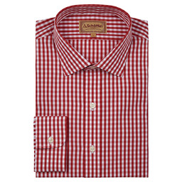 Schoffel Country Harlington Shirt in Red Gingham