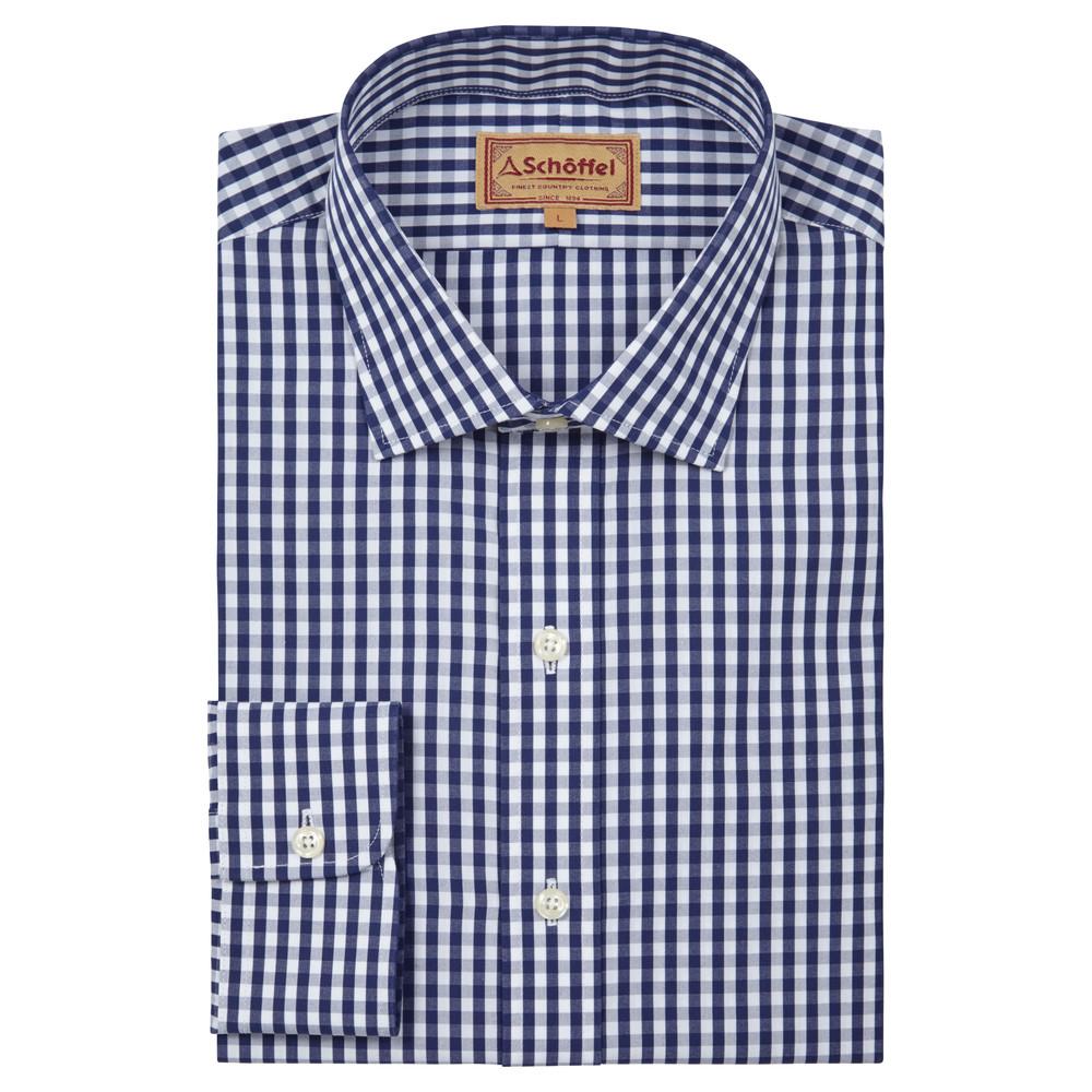 Harlington Shirt Navy Gingham