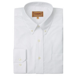Schoffel Country Oxford Shirt in White