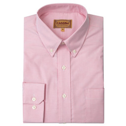 Schoffel Country Oxford Shirt in Pink