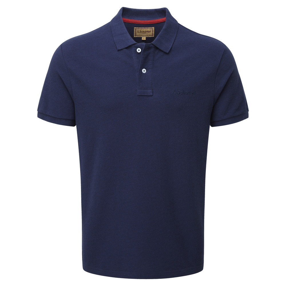 Padstow Polo Shirt Navy