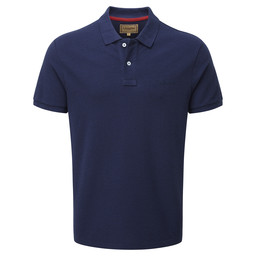Schoffel Country Padstow Polo Shirt in Navy