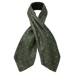 Silk Shooting Cravat
