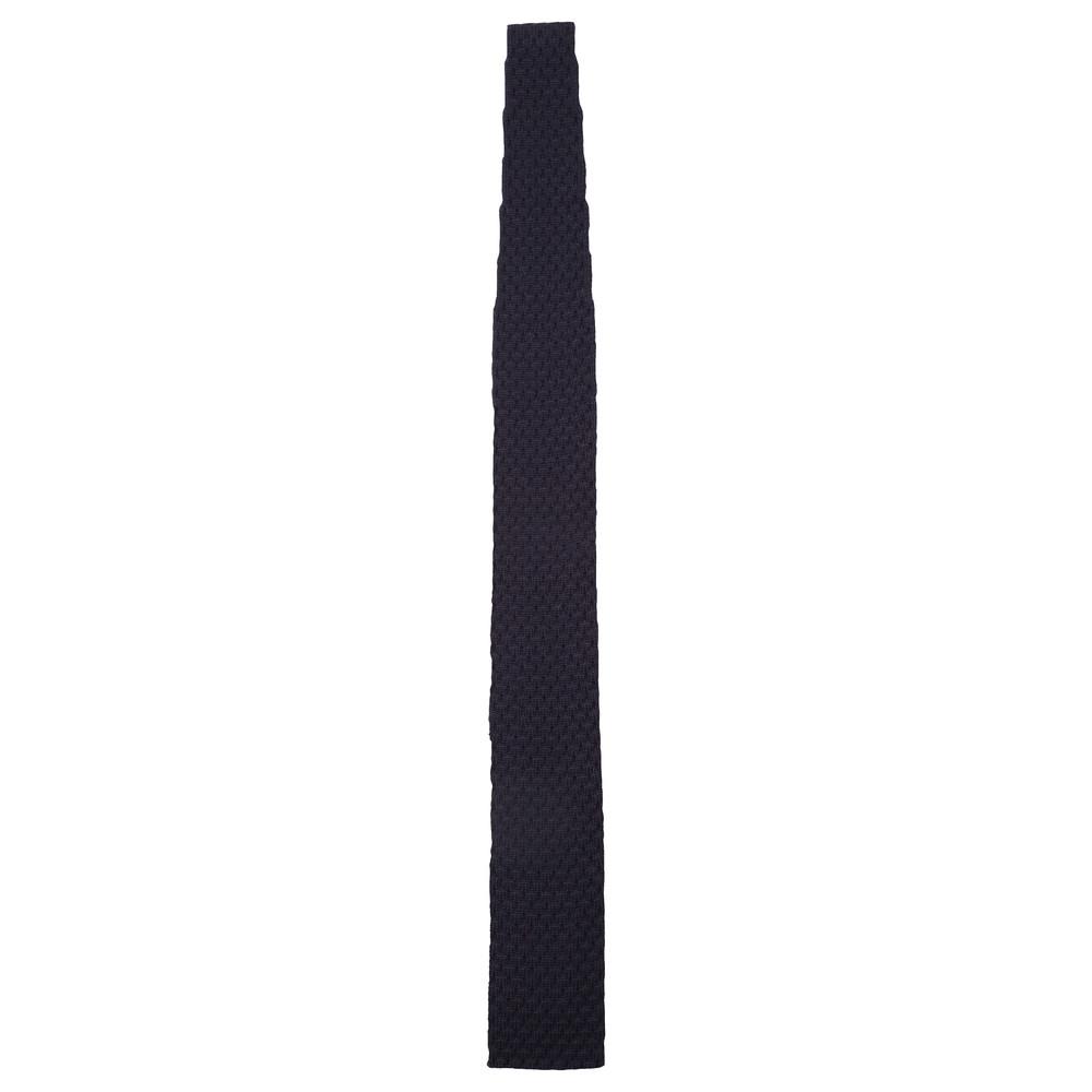 Knitted Tie Aubergine