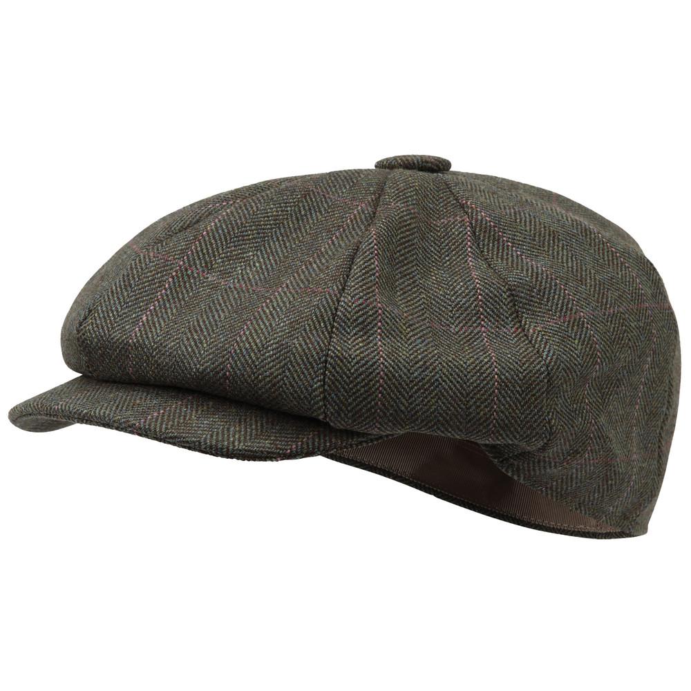 Ladies Newsboy Cap Cavell Tweed