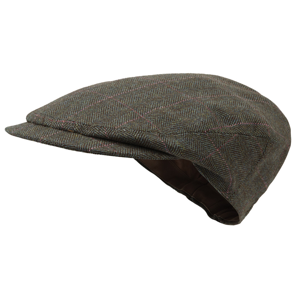 Ladies Tweed Cap Cavell Tweed