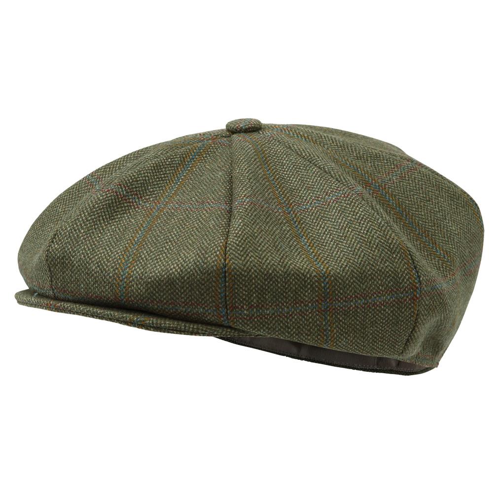 V8 Tweed Cap Sandringham Tweed