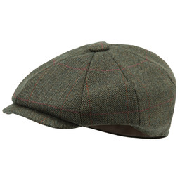 Schoffel Country Newsboy Cap in Windsor Tweed