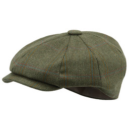 Schoffel Country Newsboy Cap in Sandringham Tweed