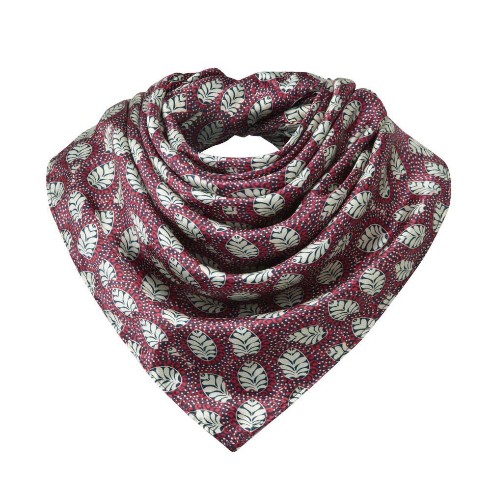 Ladies Silk Scarf Multi