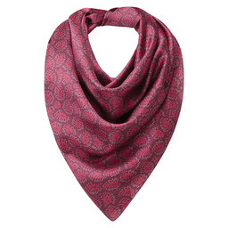 Schoffel Country Ladies Silk Scarf in Raspberry