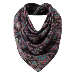 Schoffel Country Ladies Silk Scarf in Peacock