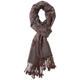 Ladies Merino Scarf Multi