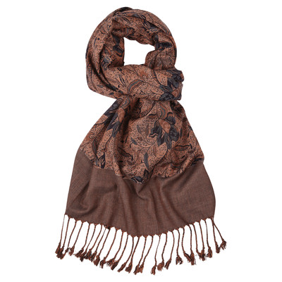 Schoffel Country Ladies Merino Scarf in Spice