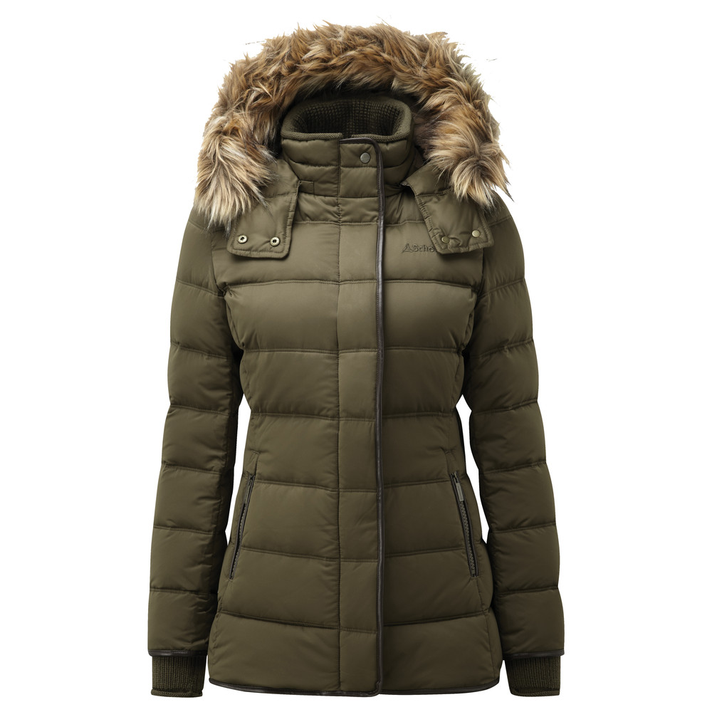Kensington Down Jacket Olive