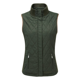 Schoffel Country Islington Gilet in Dark Olive