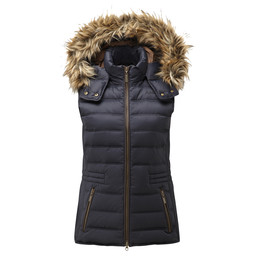 Schoffel Country Chelsea Down Gilet in Navy Blue