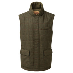 Schoffel Country Sedbergh Tweed Gilet in Windsor Tweed