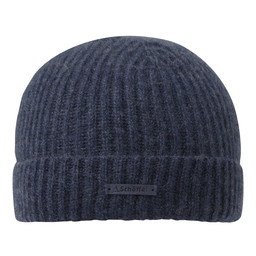 Schoffel Country Cashmere Beanie Hat in Indigo