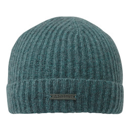 Schoffel Country Cashmere Beanie Hat in Kingfisher