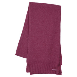 Schoffel Country Cashmere Scarf in Raspberry