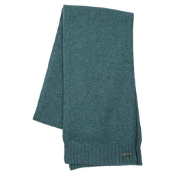 Schoffel Country Cashmere Scarf in Kingfisher