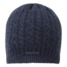 Schoffel Country Cashmere Cable Hat in Indigo