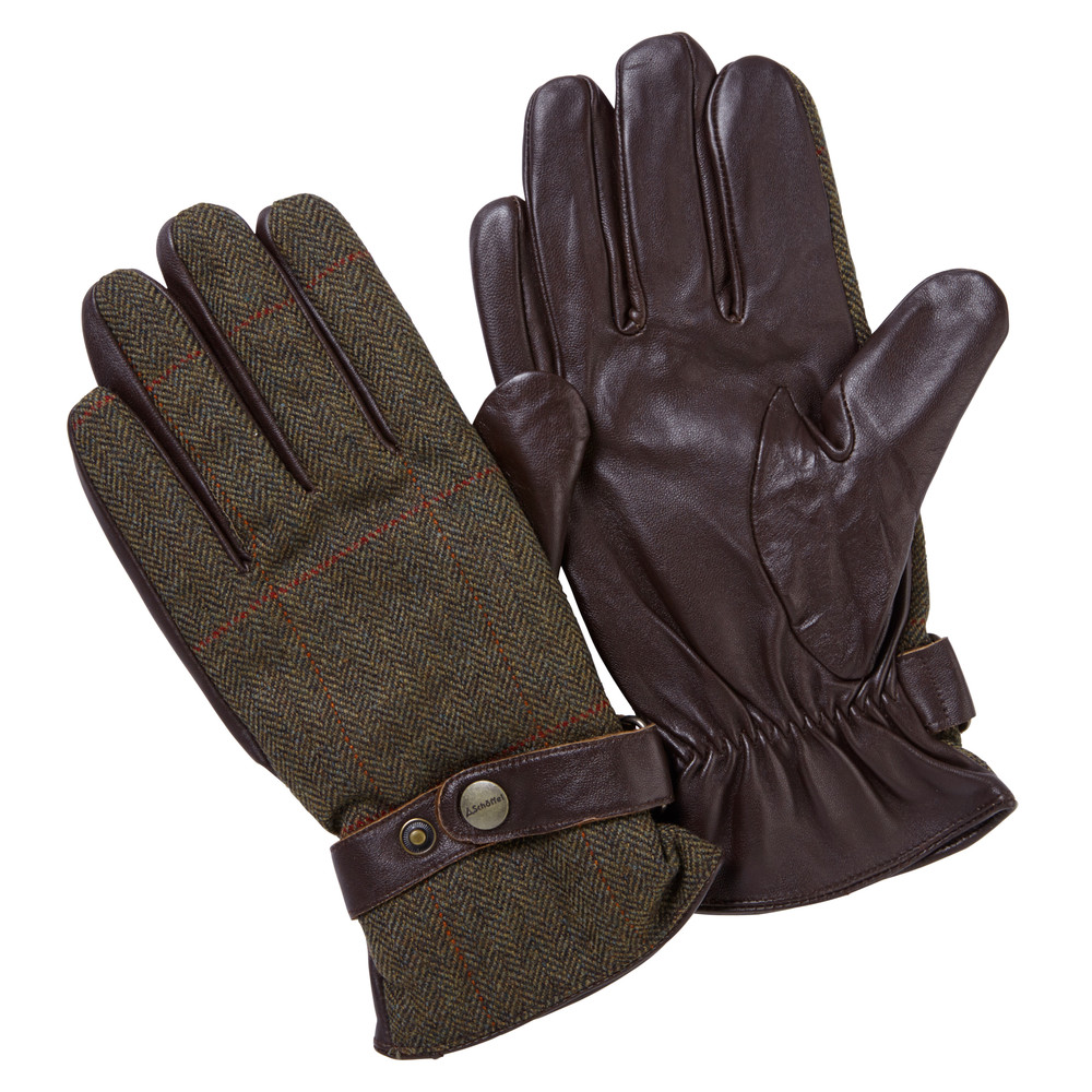 Schoffel Tweed Glove Windsor Tweed