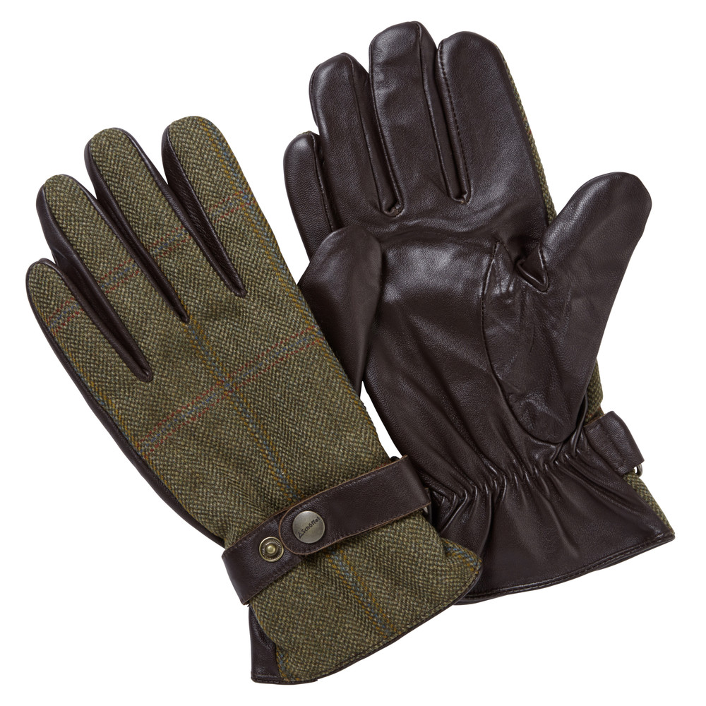 Schoffel Tweed Glove Sandringham Tweed