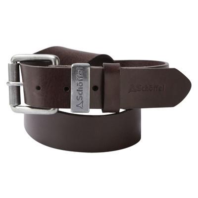 Leather Belt Dark Brown